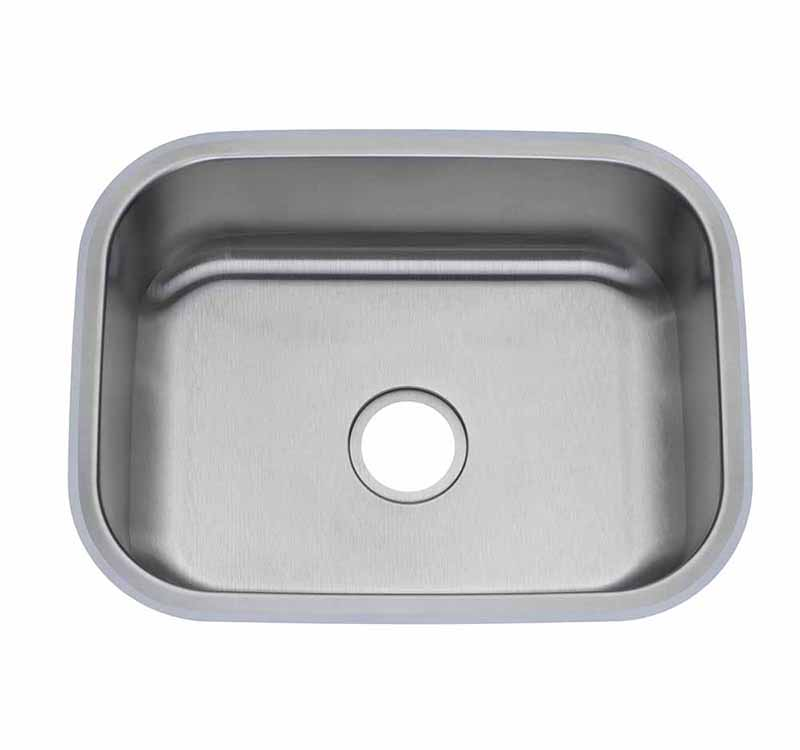 21″ Single Bowl Undermount <br> Laundry Sink