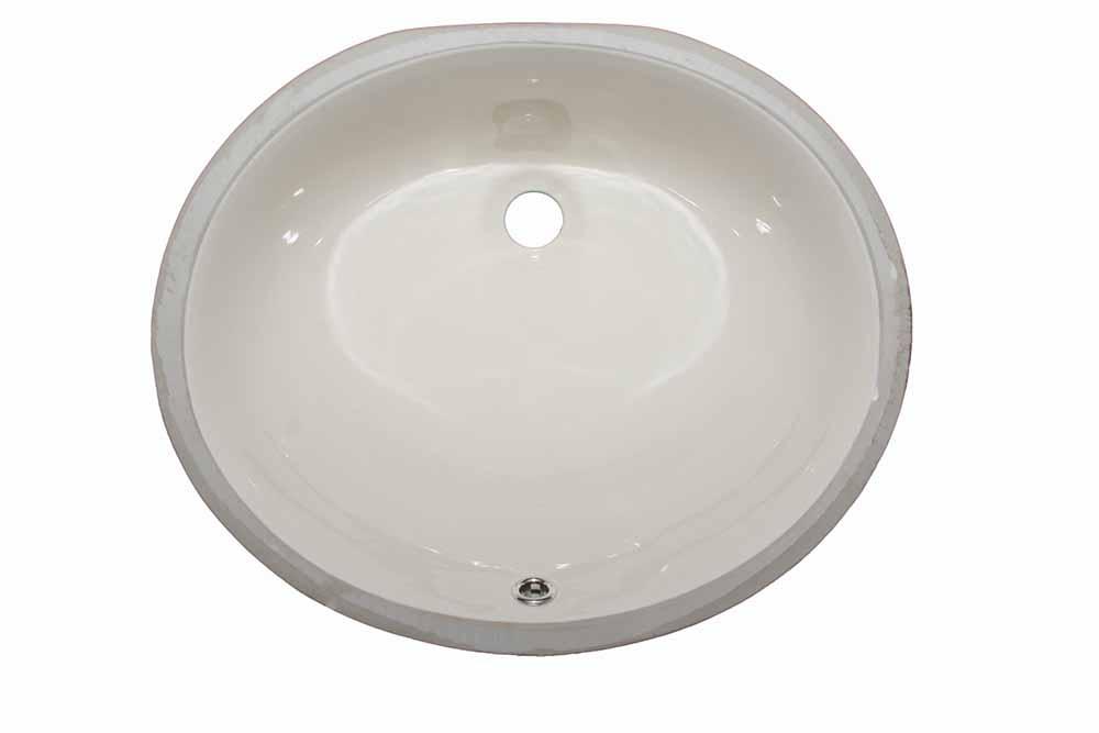 17″ Oval <br> Bathroom Sink