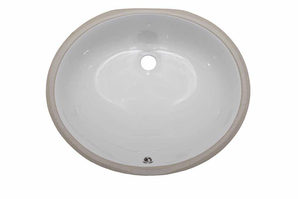 15″  Oval <br> Bathroom Sink