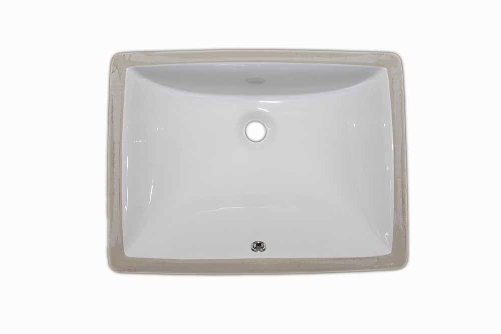 16″  Rectangular <br> Bathroom Sink