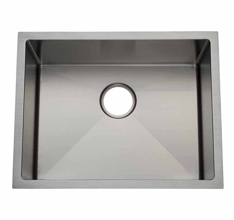 21″ Laundry -3/4 Radius Undermount Kitchen Sink
