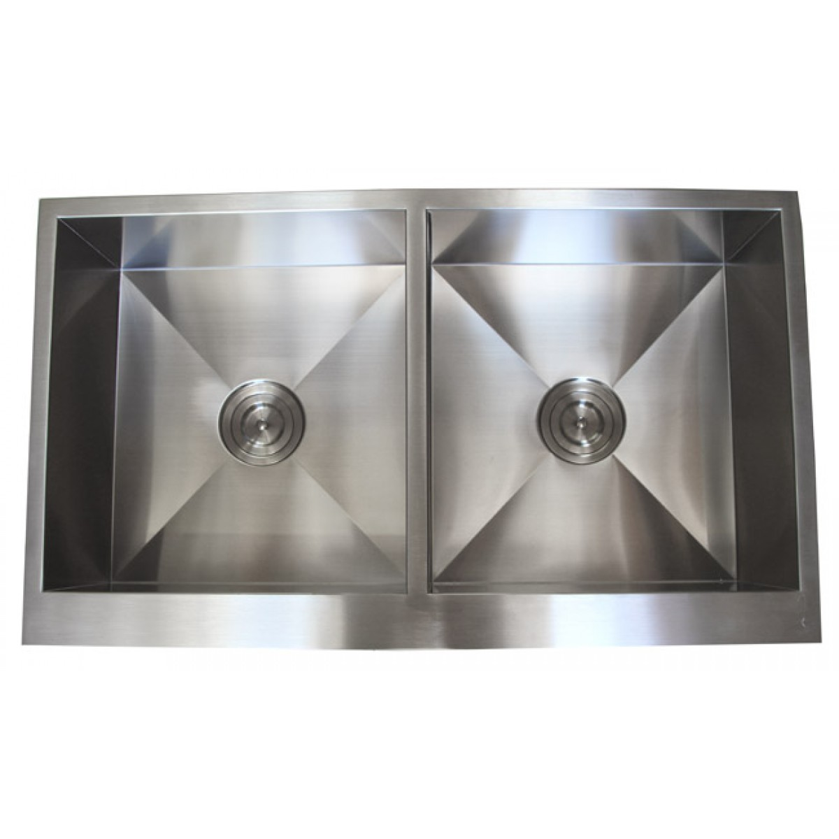 32″  50/50 <br> 90 Degree Undermount <br>Kitchen Sink