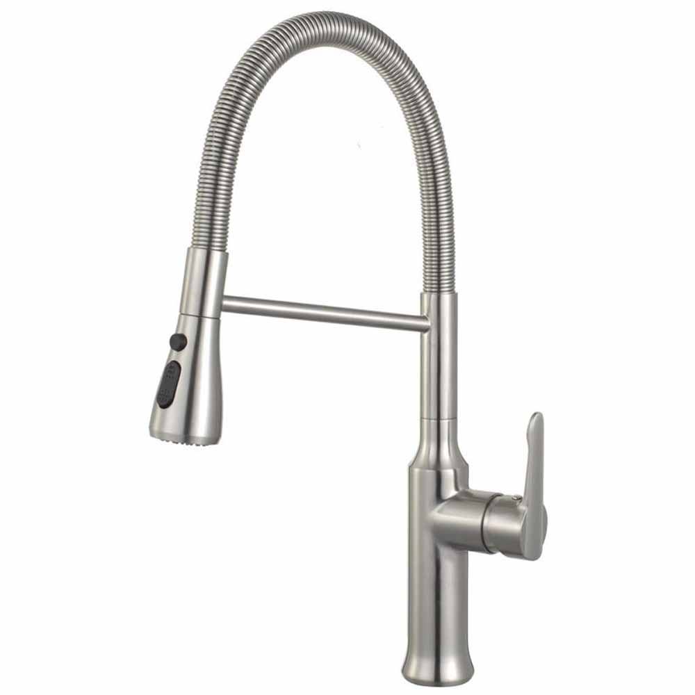 Spring Coil Pull-Down Faucet KF800CH