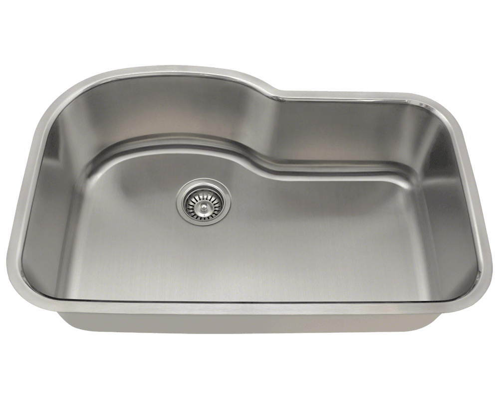 32″ Arch Shaped Undermount Kitchen Sink